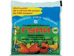 Тор Gumi за зеленчуци, плодове и плодове