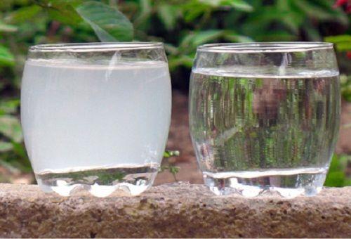 разтвор в чаши