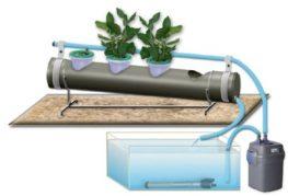 хидропонични саксии с автоматична напоителна система