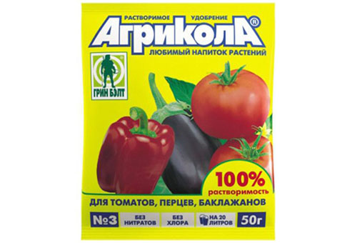 Агрикола за домати
