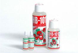 Различни обеми на лекарството HB 101