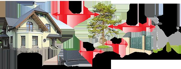 Схема за засаждане на високи дървета