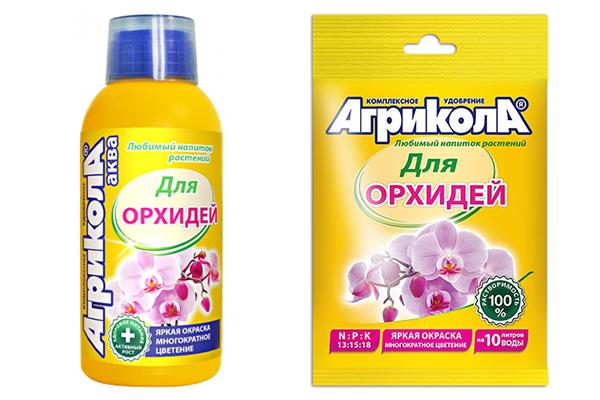 Агрикола за орхидеи - течен и гранулиран тор