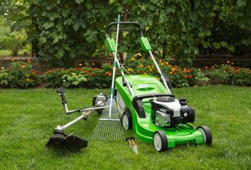 Оборудване за грижа за тревата